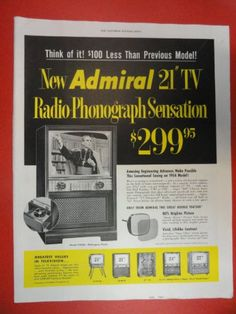794 best tv commercials images on pinterest tv ads tv commercials 50s print ad radio phonogra mozeypictures Choice Image