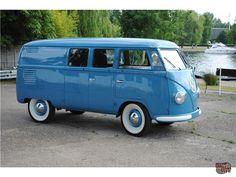 Vintage Volkswagens: Barndoor CampingBox