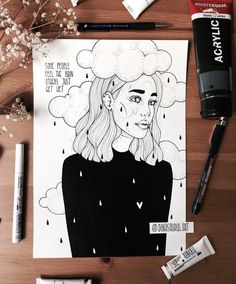 18 Ideas Quotes Life Dreams People For 2019 Pencil Art Drawings, Art Drawings Sketches, Cool Drawings, Sketchbook Inspiration, Art Sketchbook, Pen Art, Aesthetic Art, Doodle Art, Art Inspo