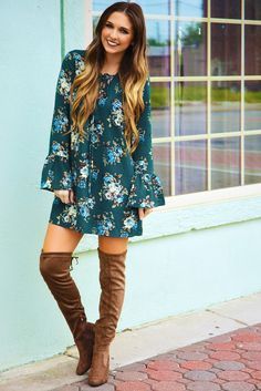Sing Me A Song Dress: Multi #shophopes