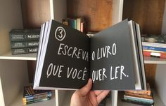 Escreva o livro que você quer ler - Roube como um artista