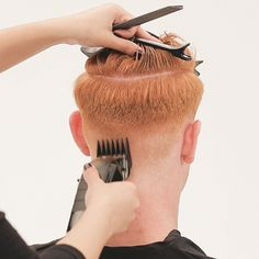 Men's Overdirected Clipper Cut from TONIandGUY - Behindthechair.com Simply Hairstyles, Young Mens Hairstyles, Men's Hairstyles, Latino Haircuts, Haircuts For Men, Mens Clipper Cuts, Toni And Guy Salon, High And Tight Haircut, Mens Hair Clippers