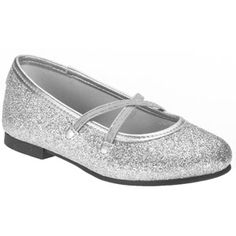 Faded Glory Toddler Girls' Dazzle Flats