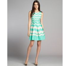 http://vcrid.com/taylorturquoise-and-white-texture-chevron-cotton-pleated-dress-p-761.html