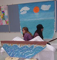 Pesca - Rafaela e Soraia
