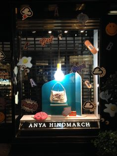 Anya Hindmarch, London // SS15 in collaboration with Harlequin Design // March 2015