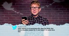 Tyler Oakley, Lilly Singh, Kingsley and a number of other popular YouTube stars read mean tweets about themselves on the Thursday, June 23, episode of 'Jimmy Kimmel Live' — read more