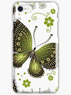 Romantic Butterflies and Flowers 7 • Also buy this artwork on phone cases, apparel, home decor und more.