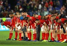 """Rugby World Cup 2019 on Instagram: """"The Welsh team - Classy, respectful and gracious in defeat 💪 Brilliant ambassadors for Wales and rugby 👏💯 #RWC2019 #WALvRSA"""" Wales Rugby, Rugby World Cup, Soccer, Classy, Wrestling, Instagram, Lucha Libre, Futbol, Chic"""