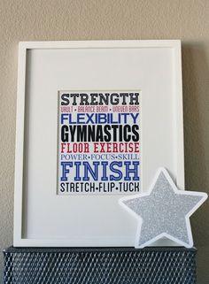 eighteen25: Gymnastics Subway Art