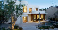 art deco house | Spanish Art Deco House with a pitched Tiled Roof by Tom Bomford Studio ...