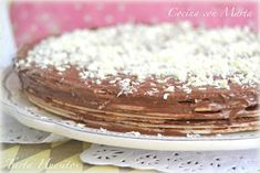 Tapas, Nutella, Vanilla Cake, Tiramisu, Cupcakes, Yummy Food, Sweets, Sugar, Ethnic Recipes