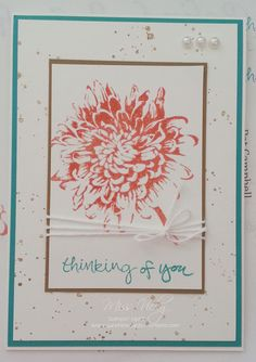 Thinking of You, Stamp Set - Sheltering Tree, Blooming with Kindness, Gorgeous Grunge, Occasions Catalogue 2015, Stampin' Up!
