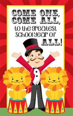 Circus Theme Classroom Decor/ Character Education Banner / Medium / Come One, Come ALL / JPEG / ARTrageous FUN