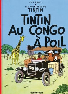 Tintin au Congo a poil