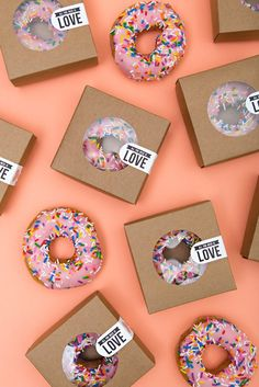 All you need is love and donuts... such a cute DIY late night wedding snack idea!