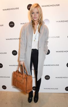 Laura Whitmore's work-ready outfit // #Office #Style