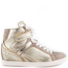 Perina 9 - Gold Leather by Guess Shoes