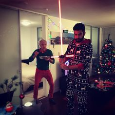 David Anders and Rahul Kohli