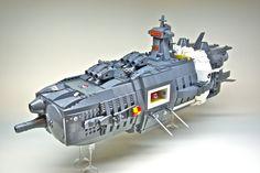 https://flic.kr/p/aDDrWp | UES Vanguard (1) | U.E.F. Battleship  Front 3/4