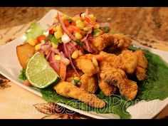 CHICHARRON DE PESCADO 2015 - YouTube