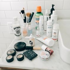 The production accountant shares her tried-and-true face washing routine for acne—plus, her guide to curing all with essential oils.
