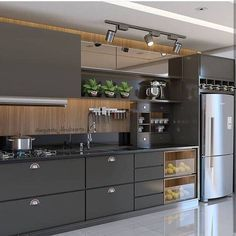 Outstanding modern kitchen room are offered on our web pages. look at this and you wont be sorry you did. Modern Kitchen Interiors, Modern Kitchen Cabinets, Home Decor Kitchen, Kitchen Furniture, Home Kitchens, Kitchen Ideas, Furniture Legs, Barbie Furniture, Garden Furniture