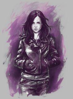 Jessica Jones illustration - art
