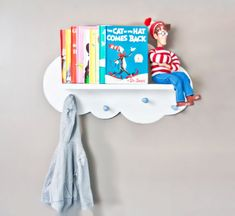 Cloud Wall Shelf Space Saver by ShopLittles on Etsy