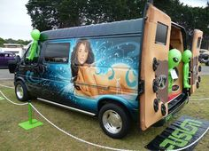 van art.  Does your ride turn into an intergalactic sex club? Didn't think so...