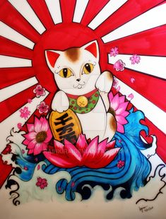Maneki Neko by RainKira