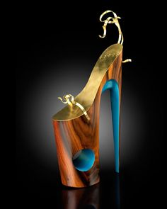 a77dfa284abf15 Sculptural Stilettos by Omar Perez. Wierd ShoesFunny ...
