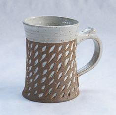 North Carolina Pottery Coffee Mugs Handmade Mug Batton Clayworks Color of the year 2014