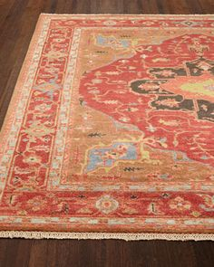 Shop Cardinal Isle Rug at Horchow, where you'll find new lower shipping on hundreds of home furnishings and gifts. Hand Knotted Rugs, Woven Rug, Rug Texture, Twin Quilt, Beds For Sale, Transitional Rugs, Hand Tufted Rugs, Red Rugs, Indoor Rugs