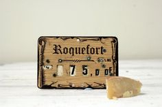 Supermarket Fromage Price Flags by Aulapinnoir on Etsy, $12.00