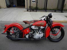 1937 Harley Davidson Knucklehead EL OHV - repined by http://www.vikingbags.com/ #VikingBags