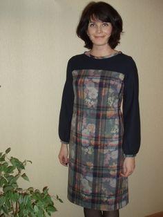 Комбинированное платье / Фотофорум / Burdastyle