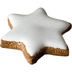 Яндекс.Фотки ❤ liked on Polyvore featuring food and christmas star cookie
