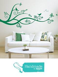 Large Tree Design, Branches, Birds - Matt Vinyl Wall Art Sticker, Decal, Mural. Home, Wall Decor, Living room, Bedroom from Fabulous Wall Art Stickers https://www.amazon.co.uk/dp/B01MDPYKQ4/ref=hnd_sw_r_pi_dp_2knbzbA8ZQHXK #handmadeatamazon