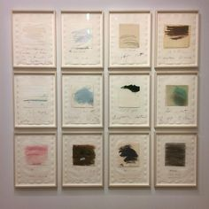 12 months of #1977 ... a #cytwombly soaked afternoon at @centrepompidou
