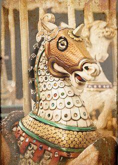 carousel steed