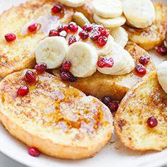 Tosty francuskie na słodko - Przepis