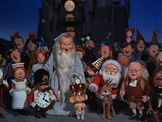Rudolph's Shiny New Year - Rankin and Bass.   First aired over 30 years ago and is still shown every year on TV