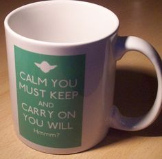 Star Wars Keep Calm and Carry on mug.