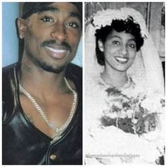 Lord Jesus! 2pac got his grandma's eyes! Someone on instagram has announce that the names of Tupac's grandparents are William and Eloise Garland