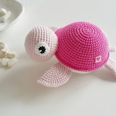 DIY – Instructions for Crocheted Turtle Amigurumi Free Pattern Tutorial - Salvabrani - Salvabrani Crochet Patterns Amigurumi, Crochet Toys, Knit Crochet, Cute Baby Gifts, Fabric Yarn, Crochet Slippers, Toddler Gifts, Love Crochet, Pet Gifts