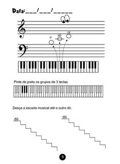 Printing Pattern Simple Learning Piano As An Adult Book Music Do, Music Class, Music Education, Music Stuff, Teaching Music, Teaching Kids, Learning Piano, Piano Lessons, Lessons For Kids