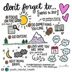 Great reminder. #youthmentalhealth #GETLOUD #Repost @youth_mental_health ・・・ #selfcarematters #mentalhealth