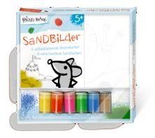 Krickel-Krakel Sandbilder. Ab 4 Jahren.