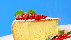 Five Ingredient Sponge Cake. Just five ingredients results in a light and fluffy sponge cake cake that serves as a subtle canvas for sweet fruit, jam, whipped cream, chocolate or just powdered sugar.